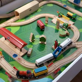 Train en bois - Toys World