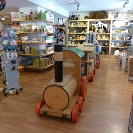 Petit train en bois - Toy's World