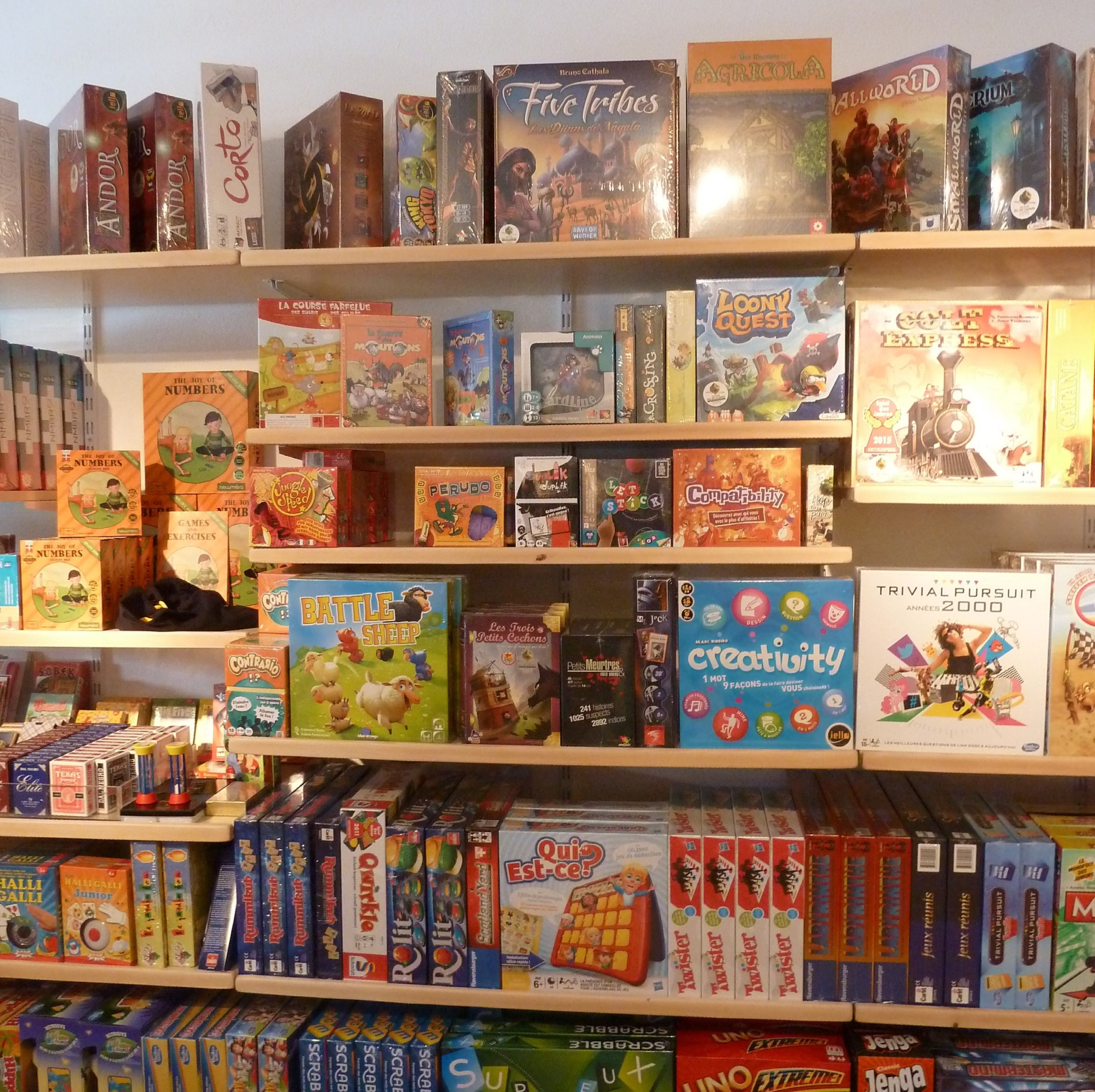 Jeux pour adolescents et adultes - Toy's World